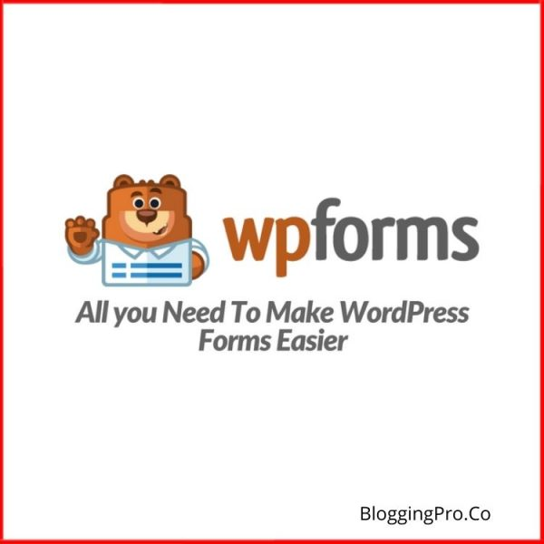 WPForms Pro WordPress Plugin With All Fields