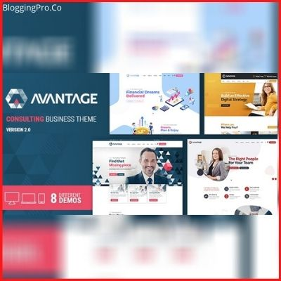 Avantage – Business Consulting WordPress Theme