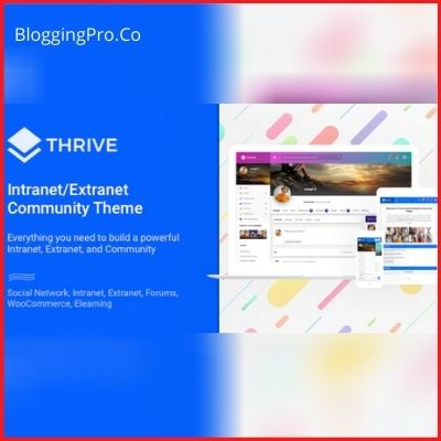 Thrive - Intranet & Community Theme