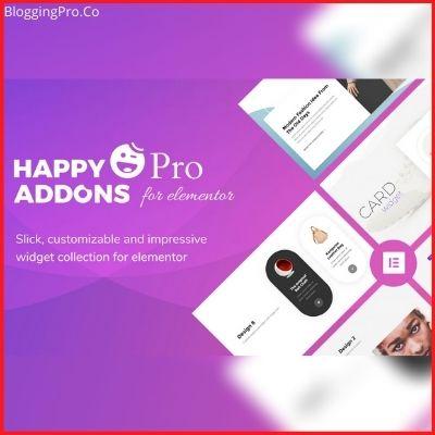 Happy addons pro - Best Elementor Addons