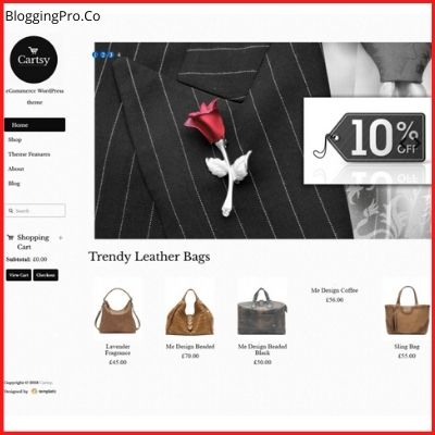 Cartsy – SuperFast WooCommerce Theme